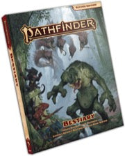 PathFinder 2nd ed Bestiary Hard Cover