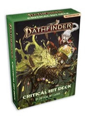PathFinder 2nd ed Critical Hit Deck
