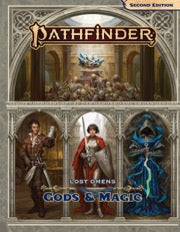PathFinder 2nd ed Lost Omens Gods & Magic Hard Cover