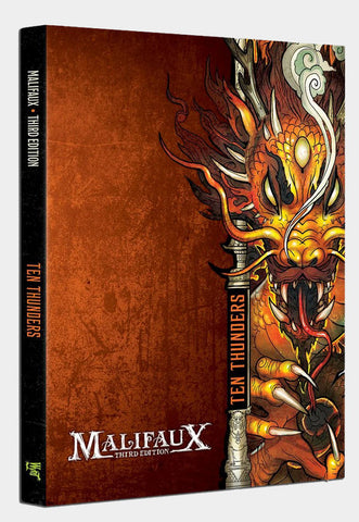 Malifaux 3rd Edition Ten Thunder Faction Book