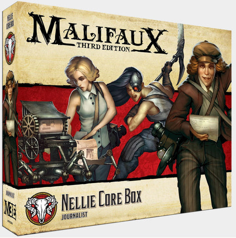 Malifaux 3rd Edition Nellie Core Box