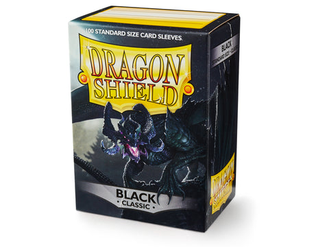 Dragon Shield Classic Black Sleeves
