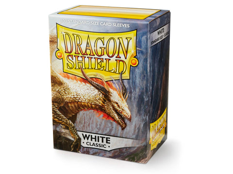 Dragon Shield Classic White Sleeves