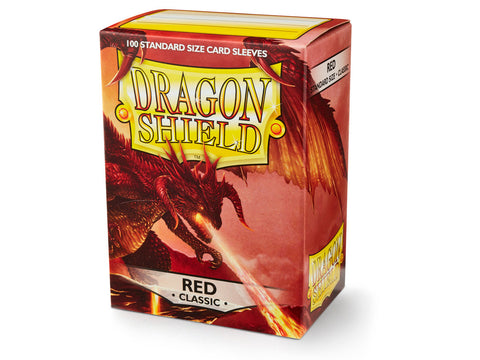 Dragon Shield Classic Red Sleeves