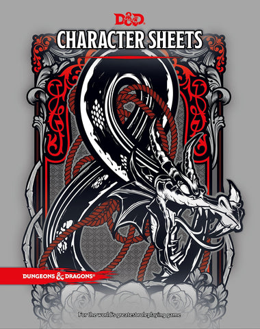 D&D 5th ed Character Sheets 2017