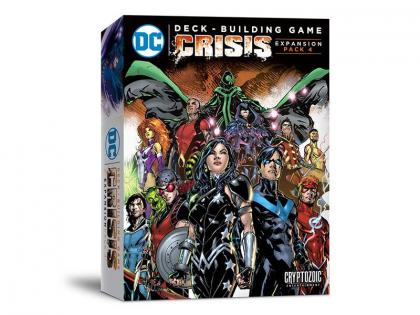 DC Deck-Building Game Crisis Expansion Pack 4