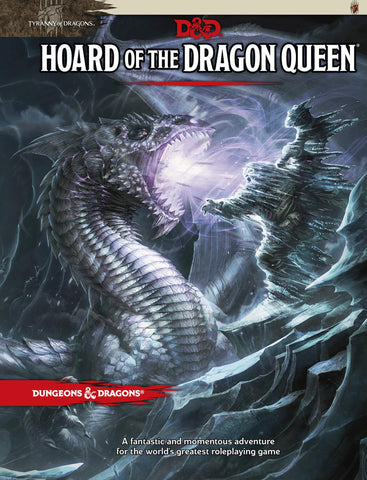 D&D 5th ed Hoard of the Dragon Queen Campaign Guide