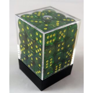 Chessex 36d6 Borealis MapleGreen/Yellow