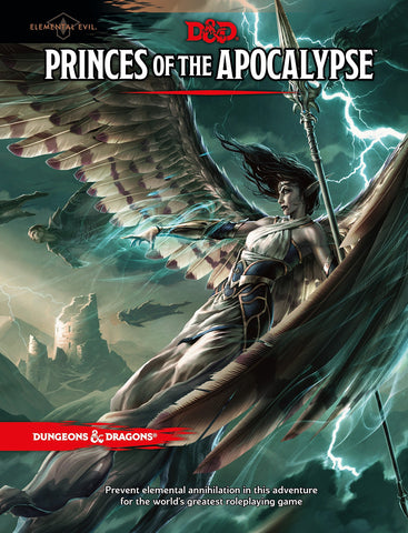 D&D 5th ed Princes of the Apocalypse Campaign Guide
