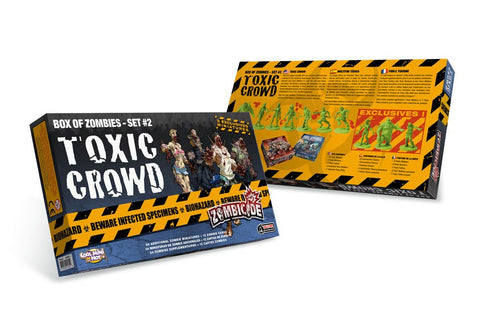 Zombicide Box of Zombies Set #2 Toxic Crowd