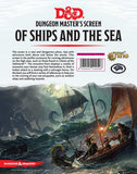 D&D Of Ships and the Sea GM Screen
