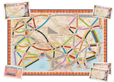 Ticket to Ride: Asia Maps