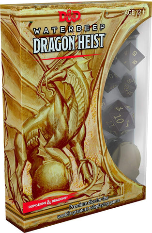 D&D Waterdeep Dragon Heist Dice