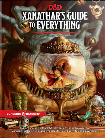D&D 5th ed Xanathar's Guide to  Everything
