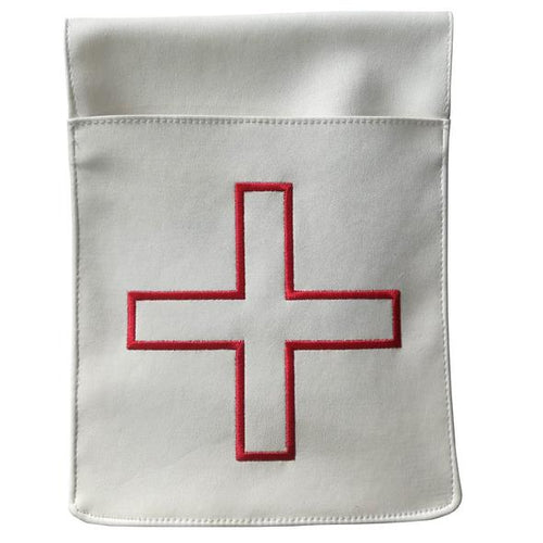 St. Thomas of Acon Belt Pocket Leather Pouch - Reversible - Regalialodge