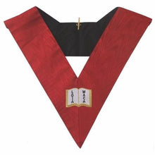 Load image into Gallery viewer, Masonic AASR collar 18th degree - Knight Rose Croix- Orator - Regalialodge