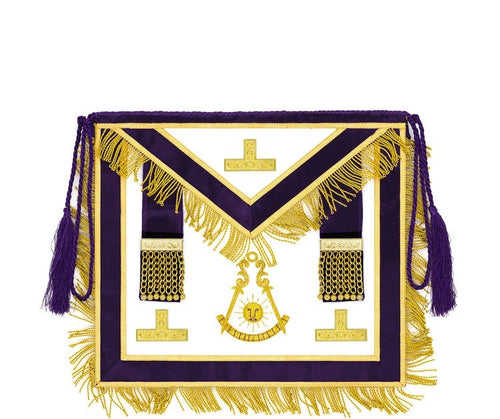 Puerto Rico // Past Master Deluxe Hand Embroidered Apron - Regalialodge