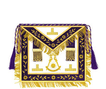 Load image into Gallery viewer, Puerto Rico // Past Master Signature Hand Embroidered  Apron - Regalialodge