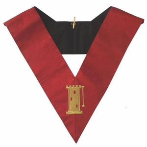 Masonic AASR collar 18th degree - Knight Rose Croix - Tour Guard - Regalialodge