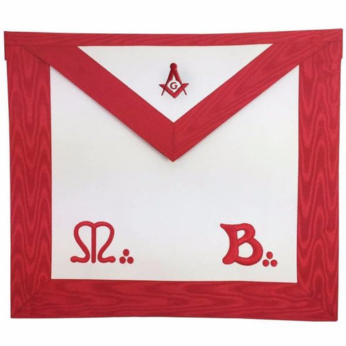Masonic Master Mason MB Apron Square Compass G - Regalialodge