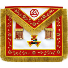 Load image into Gallery viewer, Masonic Royal Arch PHP Past High Priest Apron Bullion Hand Embroidered