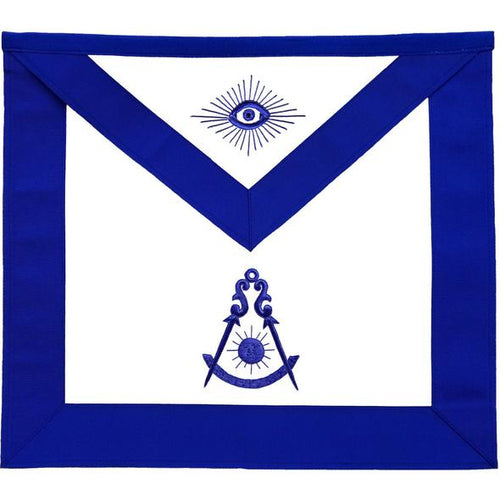 Masonic Past Master Blue Lodge Apron - Regalialodge