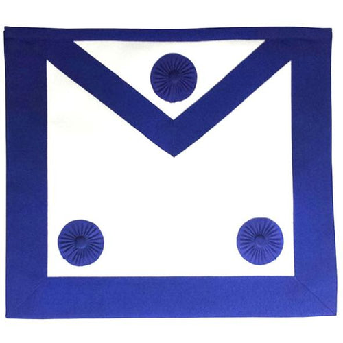 Masonic Master Mason Apron Royal Blue - Regalialodge