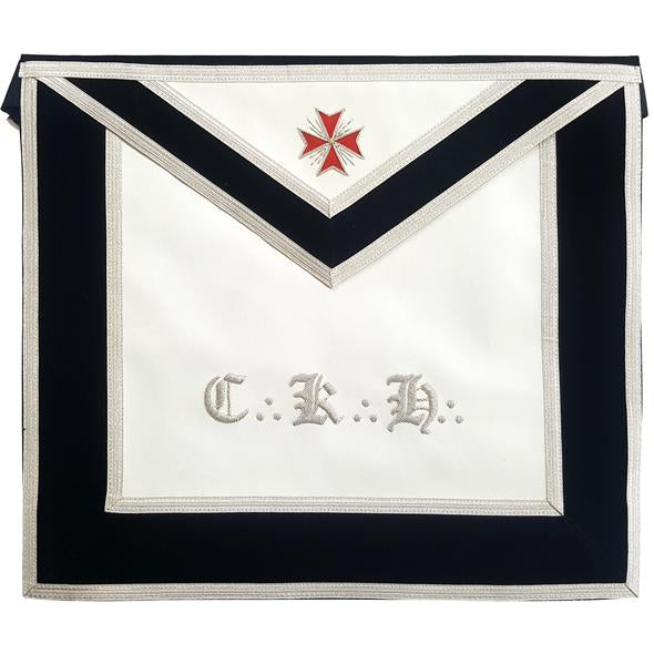 Masonic Scottish Rite Leather apron - AASR - 30th degree - Knight Kadosch - Regalialodge