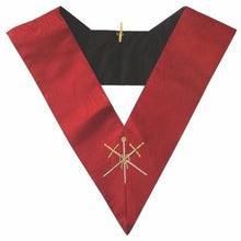 Load image into Gallery viewer, Masonic AASR collar 18th degree - Knight Rose Croix - Master of Ceremonies - Regalialodge