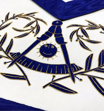 Load image into Gallery viewer, Masonic Past Master Apron Hand Embroided Apron - Regalialodge