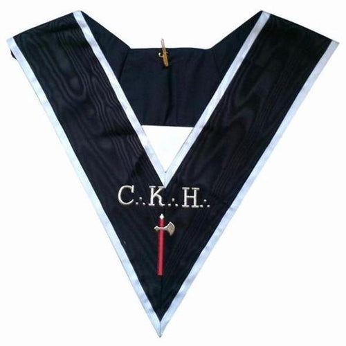 Masonic Officer's collar - ASSR - 30th degree - CKH - Chevalier Grand Introducteur - Regalialodge