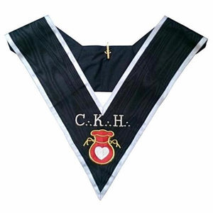 Masonic Officer's collar - ASSR - 30th degree - CKH - Grand Almoner - Regalialodge