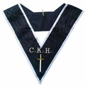 Masonic Officer's collar - ASSR - 30th degree - CKH - Grand Guard of the Camps - Regalialodge