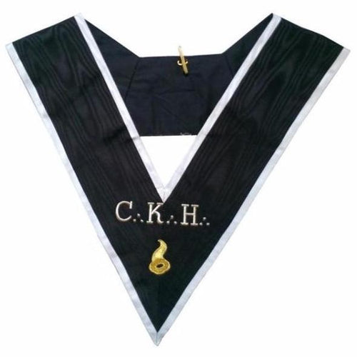 Masonic Officer's collar - ASSR - 30th degree - CKH - Grand Maître des Banquets - Regalialodge