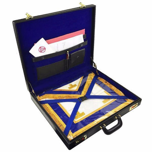 Masonic Regalia grand size mason apron Hard Case/Briefcase - Regalialodge