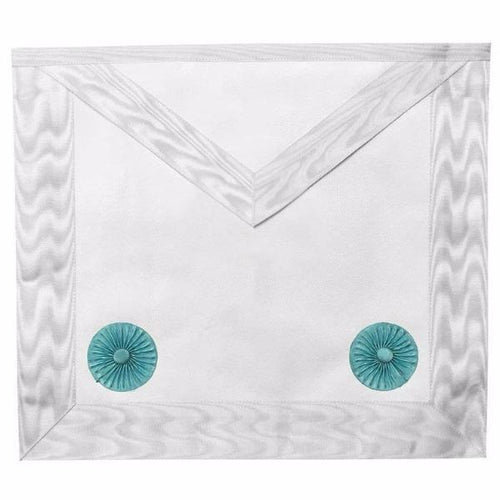 Masonic Fellow Craft Apron with Rosettes - Regalialodge