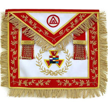 Load image into Gallery viewer, Masonic Royal Arch Grand High Priest Apron Wreath Bullion Hand Embroidered