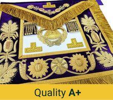 Load image into Gallery viewer, Deluxe Masonic Grand Master Apron Grand Lodge - Regalialodge