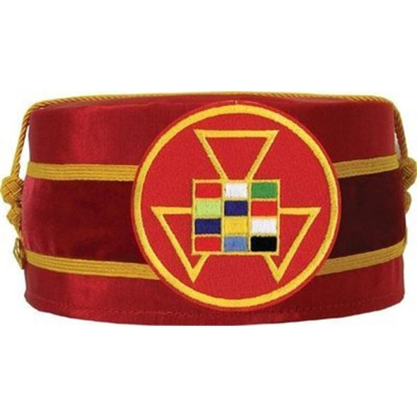 Royal Arch Past High Priest PHP Cap Red - Regalialodge