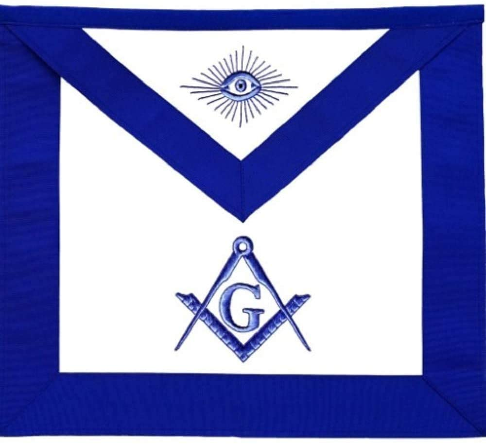 Masonic Master Mason Blue Lodge Apron
