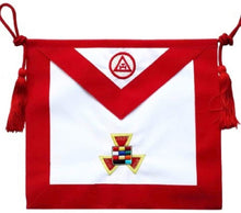 Load image into Gallery viewer, Masonic Royal Arch Past High Priest PHP Apron Hand Embroidered