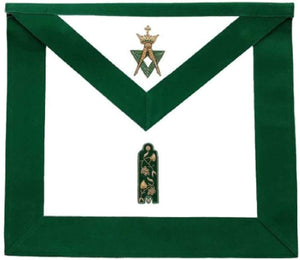 Allied Masonic Degree AMD Hand Embroidered Officer Apron - Junior