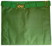 Load image into Gallery viewer, Masonic Scottish Rite Satin apron - AASR - 15th degree