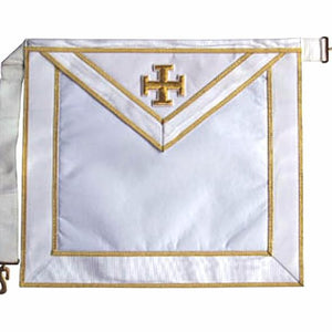 Masonic Scottish Rite Satin apron - AASR - 31st degree - Regalialodge
