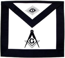 Load image into Gallery viewer, Masonic Master Mason Funeral Apron Hand Embroidered
