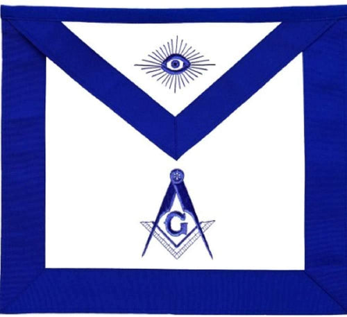 Masonic Master Mason Apron Blue Lodge
