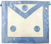 Load image into Gallery viewer, Master Mason Plastic Cover Apron - Sky Blue