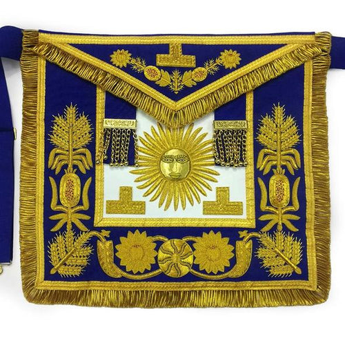 Deluxe Masonic Past Grand Master Apron Grand Lodge - Regalialodge