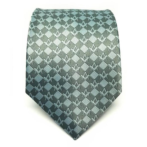 Masonic Regalia Squared Freemasons Tie - Regalialodge