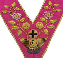 Load image into Gallery viewer, Rose Croix 18th Degree Collar